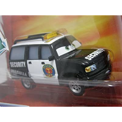 Disney / Pixar CARS Movie 155 Die Cast Car Oversized Vehicle Richard Kensington Security Van: Toys & Games