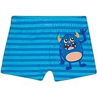 Shorts de Praia Monstrinhos Toddler, TipTop, Azul Claro, 3T