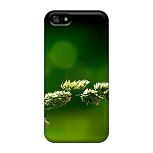 First-class Cases Covers For Iphone 5/5s Dual Protection Covers Green Nature