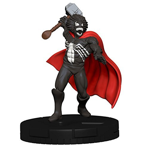 Marvel Heroclix 15th Anniversary What If # 049Venom Thor ( Chase )図Complete with Card