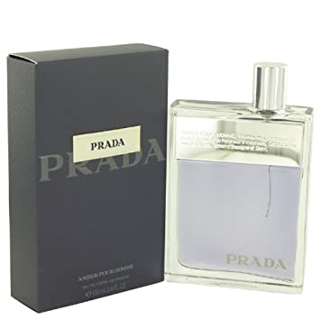 1fb6cc64ee8b Amazon.com   Prada Amber Pour Homme Cologne for Men 3.4 Fl oz Eau De  Toilette Spray   Amber Prada Colgone   Beauty