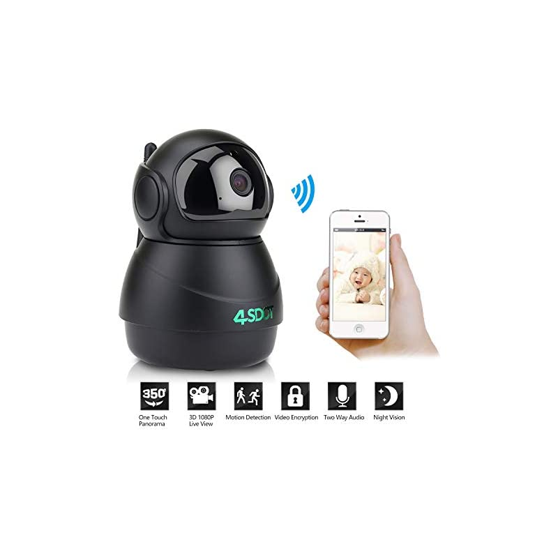 Wansview Wireless 1080P Security Camera, WiFi Home