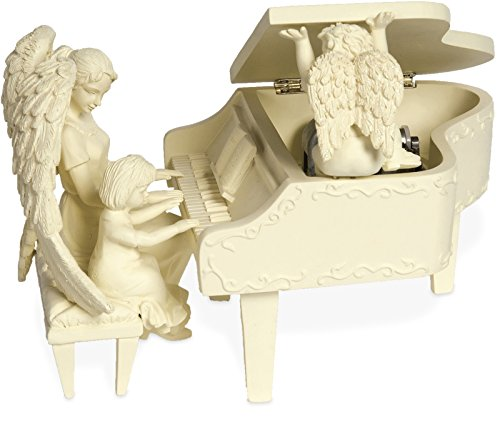 Angelstar Plays You've Got a Friend Musical Piano Angel Figurine, 8-1/2-Inch Long Angel Star Figurine