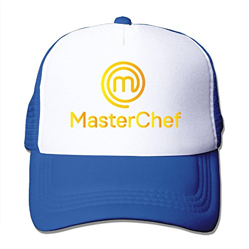 golden-masterchef-brasil-logo-snapback-trucker-mesh-men-women-one-size-fits-most-hats-caps-royalblue