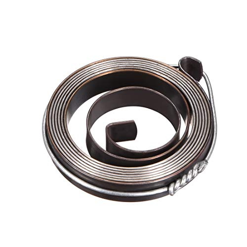 Find Discount uxcell Drill Press Return Spring, Quill Spring Feed Return Coil Spring Assembly, 3.3Ft Long, 42 X 8 X 0.8mm