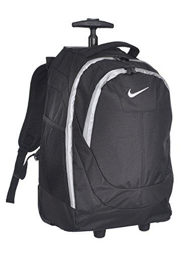 Nike Swoosh Rolling Backpack - Black/Silver