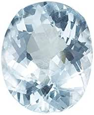0.91-1.20 Cts of 8x6 mm AA Oval Loose Aquamarine ( 1 pc ) Gemstone