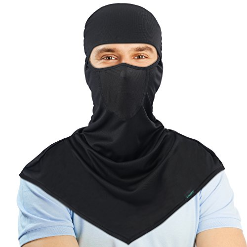 SUNMECI Balaclava - Windproof and Dust Sun Protection Full Face Mask Cycling Motorcycle Breathable Neck Cover in Summer for Men and Women -