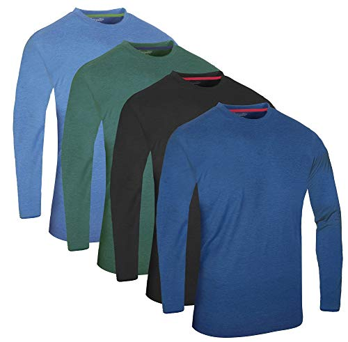 Kurzarm Multiple Bleu shirts Time Sports¨ Rundhals Pack Džcontractžs Hauts T Langarm De 6 Longue Full Packs 4 Manche Vert Assortiment 3 Charbon q7HPH