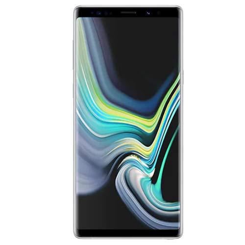 Samsung Galaxy Note 9 SM-N960F/DS 6GB / 128GB 6.4-inches LTE Dual SIM (GSM ONLY, NO CDMA) Factory Unlocked No Warranty - Alpine White ()