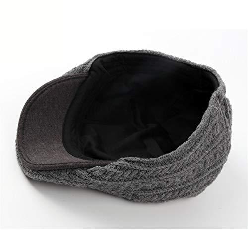 Boina Viejo Delantero Que Grueso Sombrero GLLH Pato el B Invierno Hace Sombrero El Sombreros Caliente Sombrero A Punto hat el qin Sombrero señoras Hombres del y de otoño la los de USTUpx7w