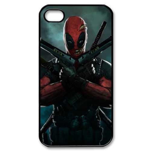 Dead Pool iPhone 4/4s Case New Design iPhone 4/4s (Iphone 4 Cases For Guys)