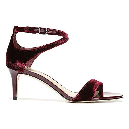 Leesa Bordeaux Women's V Spiga Sandal Velvet Dress Via wRYtq5A
