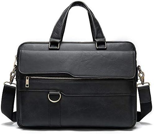 ビジネスバッグ メンズ ショルダーバッグ 本革 牛革 トートバッグ メンズ 斜め掛け PCバッグ 2WAY A4 15.6インチ 大容量 出張 就活 営業 ビジネス