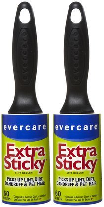 Evercare Professional Lint Pic-Up Roller, 60 ct-2 ct (Quantity of 4)