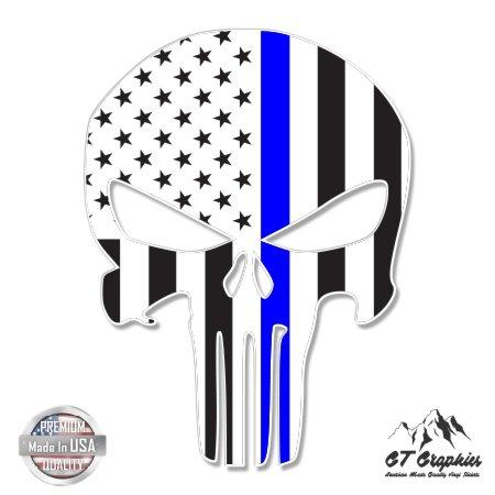 punisher-skull-thin-blue-line-american-flag-3-vinyl-sticker-for-car-laptop-i-pad-phone-helmet-hard-h