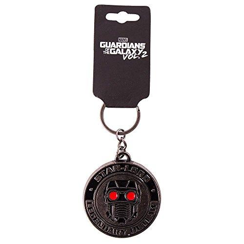 Lord Keychain (Marvel - Guardians of the Galaxy Vol. 2 - Star-Lord Metal Keychain)