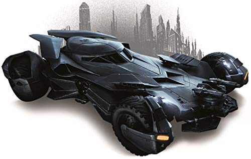 9 Inch Batman Batmobile Cityscape Decal Bat Man Dark Knight DC Comics Repositionable Removable Peel Self Stick Wall Sticker Art Home Decor (Decoration for Walls Laptop Yeti Boys Room) 9 -
