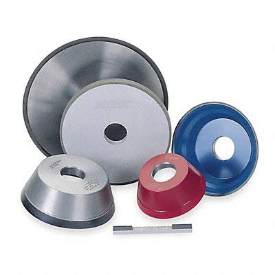 Straight Grinding Wheel 7In 100 1A1 by Norton Abrasives - St. Gobain