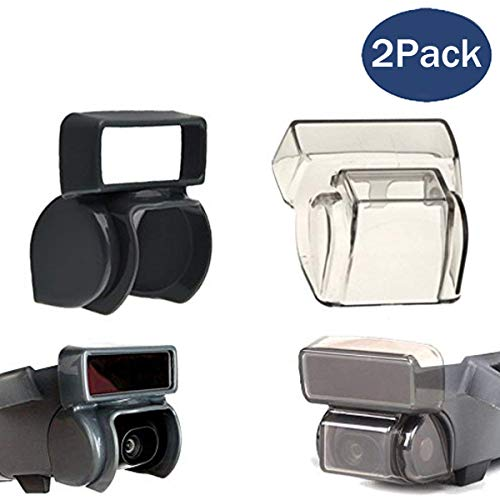 Cameras Sunshade - Fstop Labs Lens Cap Hood for DJI Spark Gimbal Sun Shade Camera Cover Protector Guard Protective Bubble Accessory Bundle Combo (2 Pack)