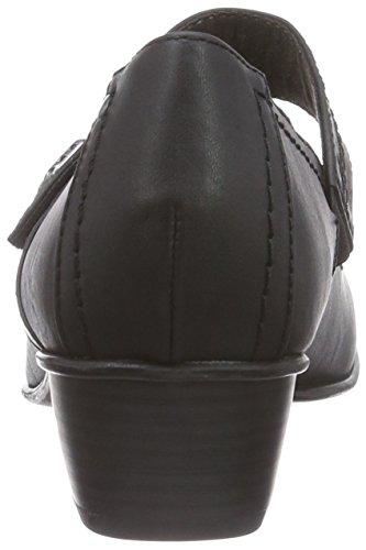 24361 Schwarz Mocassins 001 Femme Schwarz Softline Noir Black pfdPqwp7x