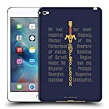 Official Star Trek Discovery All Hail The Emperor Mirror Universe Soft Gel Case Compatible for iPad Mini 4
