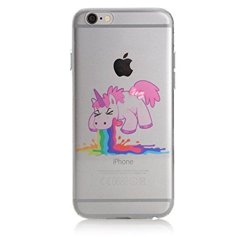 Crazy Unicorn iPhone 7 Case - F**k off