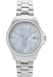 Quarz One Time Damen Armbanduhr Jette Analog SizeSchwarzSchwarz txQrCBsodh