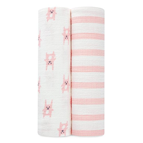 aden anais flannel swaddles bunny product image