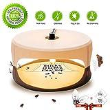 ZZC Flea Trap with 2 Glue Discs Waterproof Non-Toxic No Insecticides Trap Killer