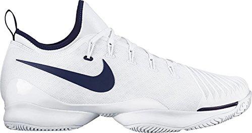Nike Mens Air Zoom Ultra React Tennis Shoe White/BinaryBlue (11) by NIKE