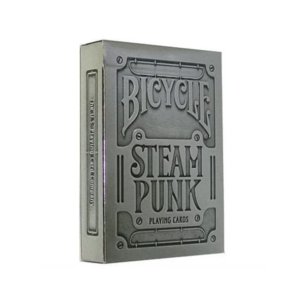 Bicycle 1025591 Silver Steampunk Playing Cards by Bicycle 3