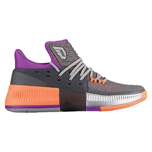 神の輪郭論争的(アディダス) adidas メンズ バスケットボール シューズ?靴 adidas Dame 3 [並行輸入品]