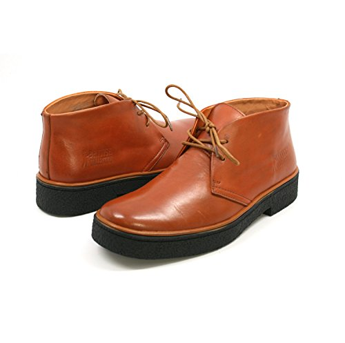 Gli Originali Walkers Inglesi Da Uomo Playboy High Top In Pelle Color Ruggine Boot Chukka