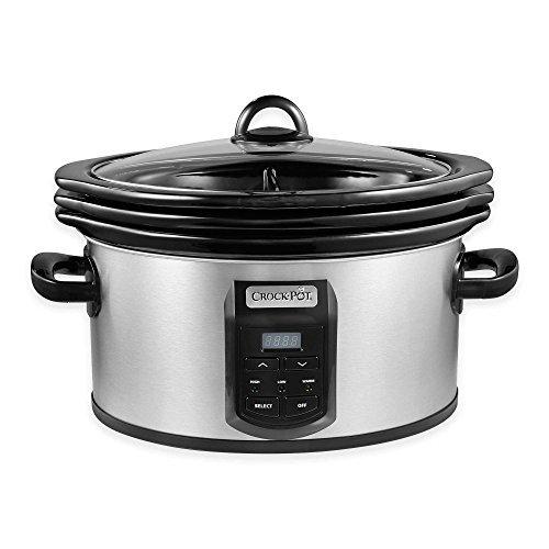 Crock-Pot SCCPVS642-S Choose-A-Crock Programmable Slow Cooker
