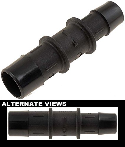 APDTY 58191 Heater Hose Connectors - 5/8 In. X 3/4 In. Connector - Plastic