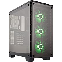 Corsair Crystal Series 460X RGB - Tempered Glass, Compact ATX Mid-Tower Case Case (CC-9011101-WW)