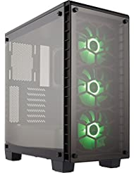 Corsair CC-9011101-WW Crystal Series 460X RGB, Tempered Glass...
