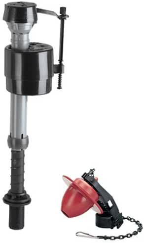Fluidmaster 400CRP14 Toilet Fill Valve and Flapper Repair Kit