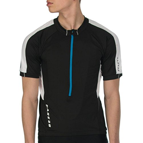 Dare S/s Tee - Dare 2b Men's Retribute Cycle Jersey - US S - Black