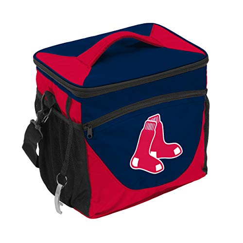 Logo Brands MLB Boston Red Sox 24 Can Cooler, Team Color, Small ()