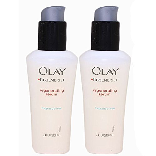Olay Regenerist Regenerating Serum - Ultra Lightweight Formula for Women 3.4 oz - 2 (Best Olay Natural Face Sunscreens)