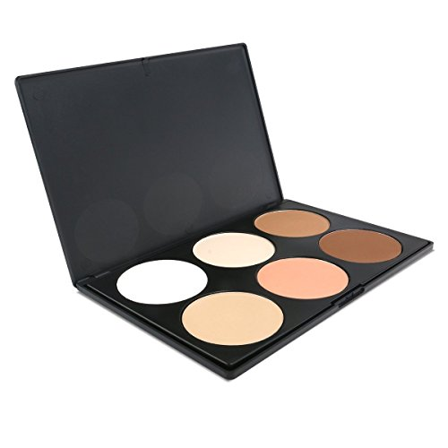 MGutry Lifestyles Professional Colors Warm Nude Matte Smokey Eyeshadow Eye Shadow Palette Makeup Kit Set Make Up Professional Box (New-6 Contour Kit) (Matte Contour)