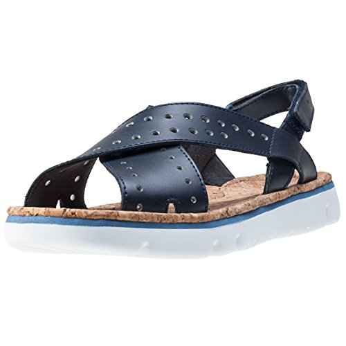 Camper Oruga Twins Womens Sandals Dark Blue - 37 (Camper Womens Twins)