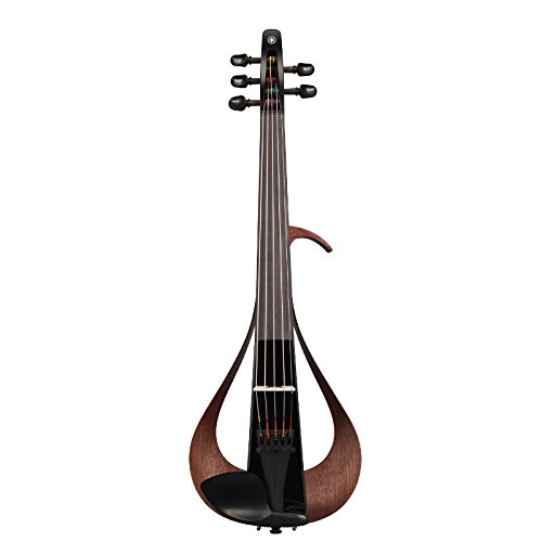 Yamaha Electric Violin-YEV105BL-Black-5 String, Black YEV105BL