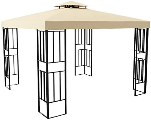 YITAHOME 10 x 10 ft Outdoor Canopy Gazebo