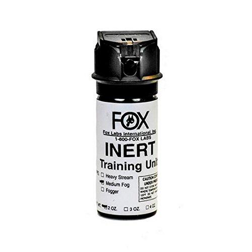Fox Labs 105FTSDB Inert 1.5 oz. Flip Top Stream Pepper Spray, - Fox Oc Spray