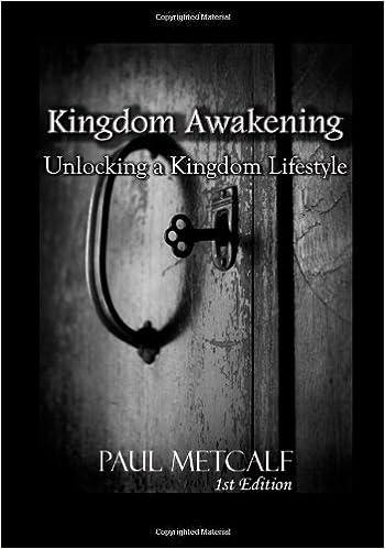 Kingdom Awakening School Of Supernatural Ministry Paul Metcalf