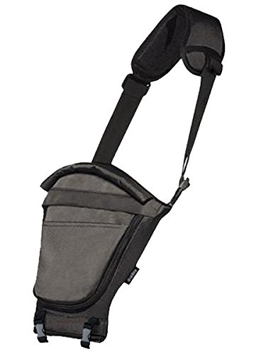 Miamily Hipster Single Shoulder Accessory only Swiss Brand - Approved by Global Wide Safety Standards - 3 additional ways to carry baby - Fits all Sizes - Ergonomic Design (Total Black)