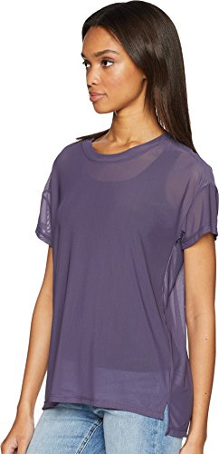 UNIONBAY Women's Fine Mesh Top, Grape Ice, Medium by UNIONBAY (Image #1)